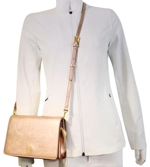 Item - Emerson Combo Rose Gold Leather Cross Body Bag