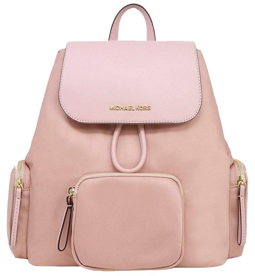 Preload https://img-static.tradesy.com/item/25895608/michael-kors-mk-signature-cargo-blossom-pink-nylon-backpack-0-1-540-540.jpg