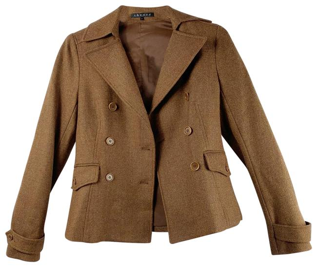 Item - Brown Double Breasted Blazer Size 2 (XS)