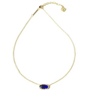Kendra Scott Brand New Kendra Scott Elisa Necklace in Gold COBALT Blue
