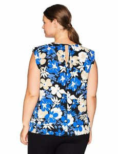 Nine West Polyester Top Multicolor