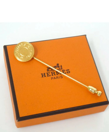Preload https://img-static.tradesy.com/item/25896015/hermes-gold-plated-pin-brooch-0-2-540-540.jpg