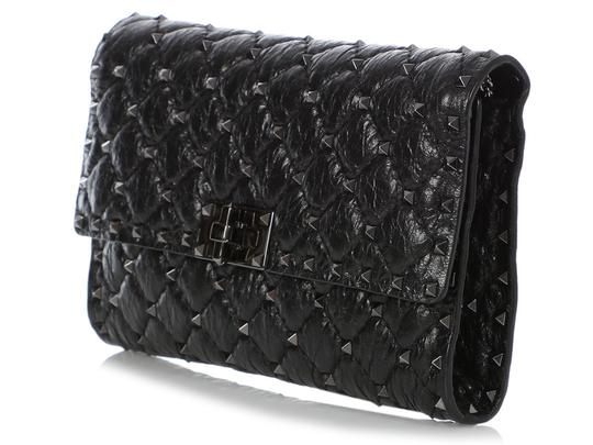 Valentino Vl.q0712.09 Matelasse Studded Cross Body Bag Image 2