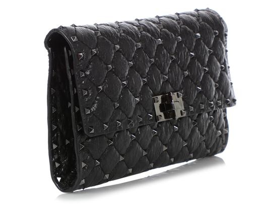 Valentino Vl.q0712.09 Matelasse Studded Cross Body Bag Image 4