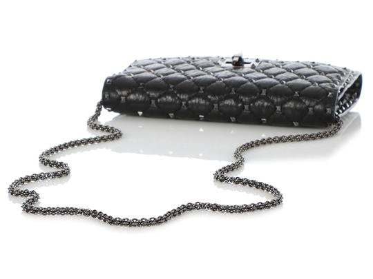 Valentino Vl.q0712.09 Matelasse Studded Cross Body Bag Image 6