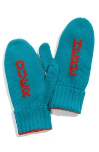 "Kate Spade ""Over Here"" Mittens"