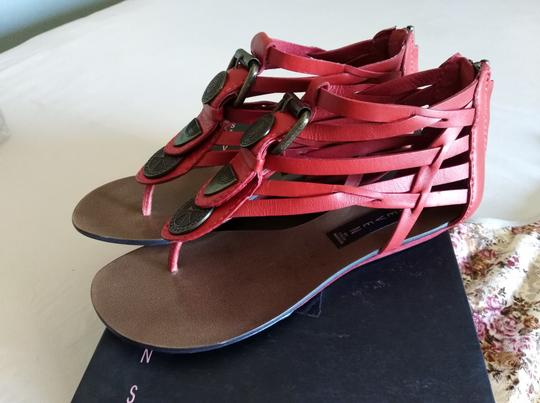 Steve Madden red Sandals Image 2