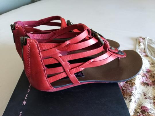 Steve Madden red Sandals Image 3
