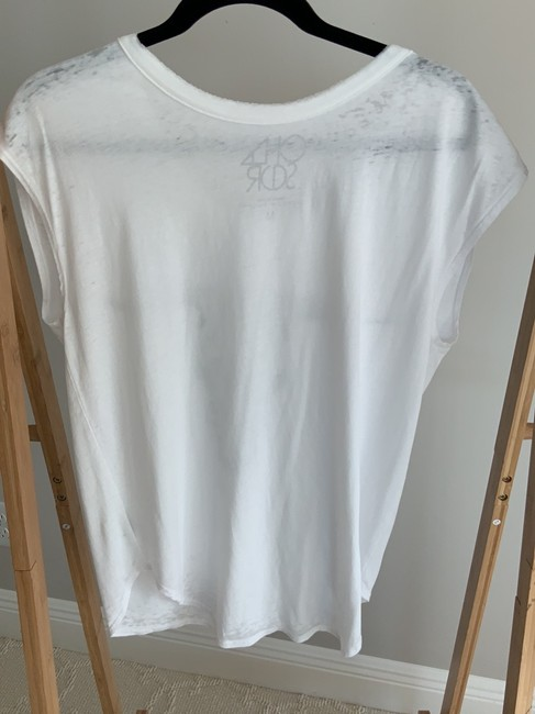 Chaser T Shirt White with graphic design Image 4