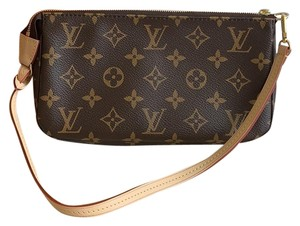 Louis Vuitton Wristlet in monogram