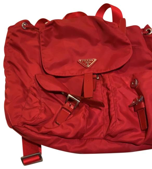 Item - Red Satin Backpack