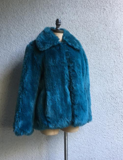 Other Westwood Katrantzou Gucci Renta Dior Coach Burberry Mcqueen blue Jacket Image 4