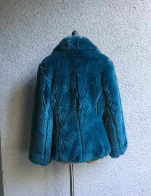 Other Westwood Katrantzou Gucci Renta Dior Coach Burberry Mcqueen blue Jacket Image 5