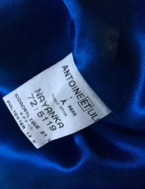 Other Westwood Katrantzou Gucci Renta Dior Coach Burberry Mcqueen blue Jacket Image 7