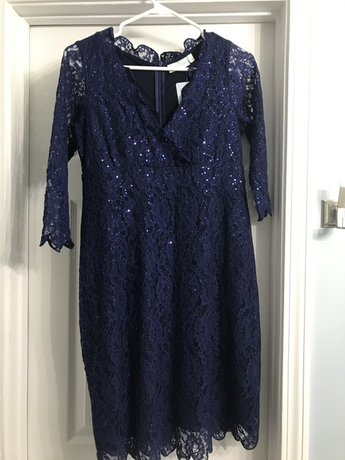 Preload https://item4.tradesy.com/images/navy-blue-lace-shift-maternity-dress-size-4-s-27-25897023-0-0.jpg?width=400&height=650