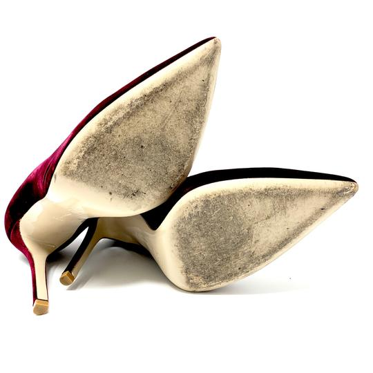 Gianvito Rossi Burgundy Pumps Image 5