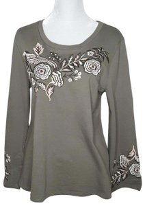 Style & Co Embroidered Sweater