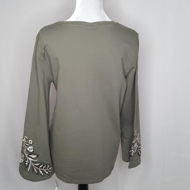 Style & Co Embroidered Sweater Image 1