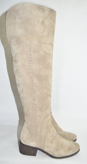 Vince Camuto Over The Knee Tall TAN Boots Image 4