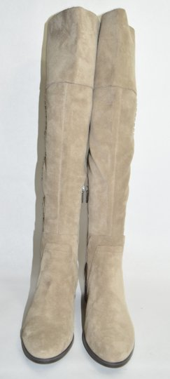 Vince Camuto Over The Knee Tall TAN Boots Image 5