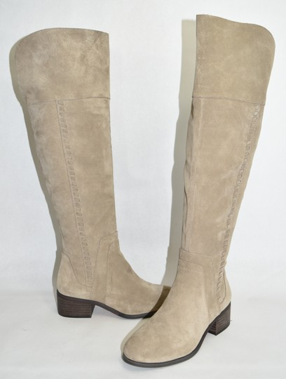 Vince Camuto Over The Knee Tall TAN Boots Image 6