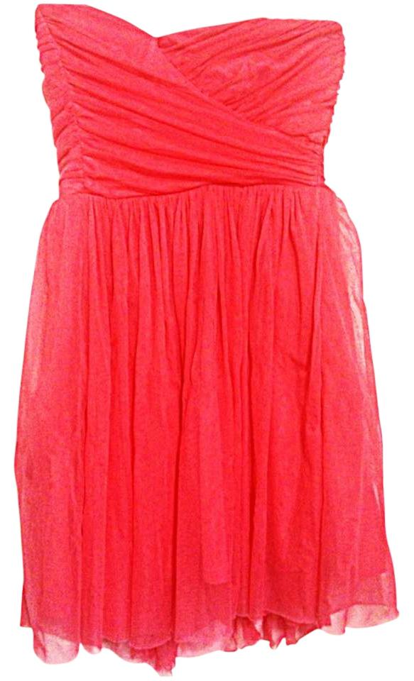 Forever 21 Peach Flowy Causual Casual Semi Formal Spring Summertime