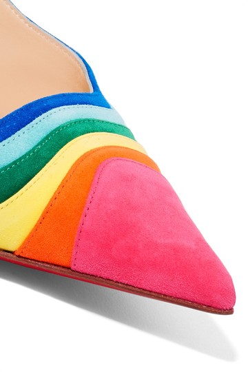 Christian Louboutin Degradama Suede Rainbow multi Pumps Image 1