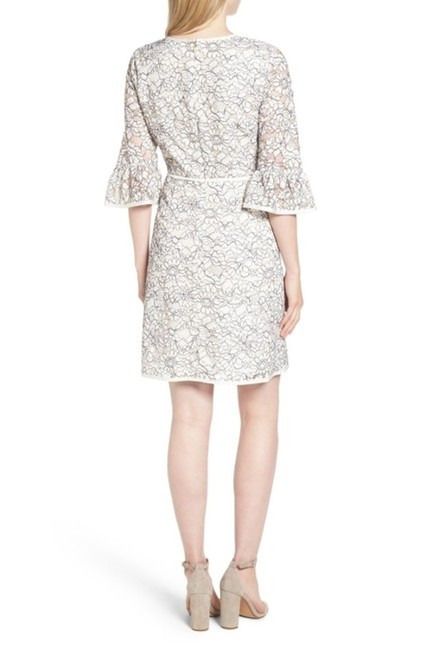 Draper James short dress Cream Lace Bell Sleeve Embroidered Ribbon Scoop Neck on Tradesy Image 1