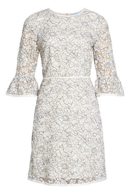 Draper James short dress Cream Lace Bell Sleeve Embroidered Ribbon Scoop Neck on Tradesy Image 2