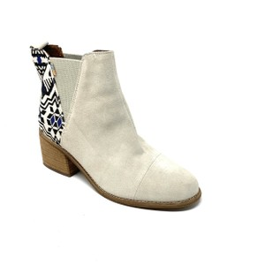 TOMS off white Boots