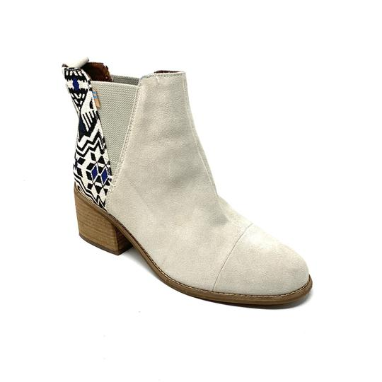 TOMS off white Boots Image 3