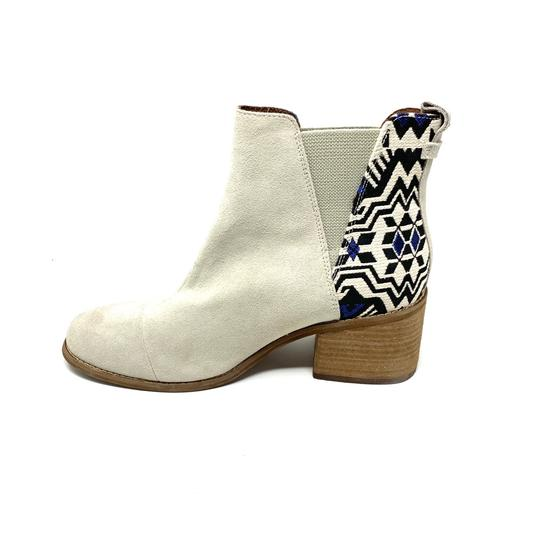 TOMS off white Boots Image 4