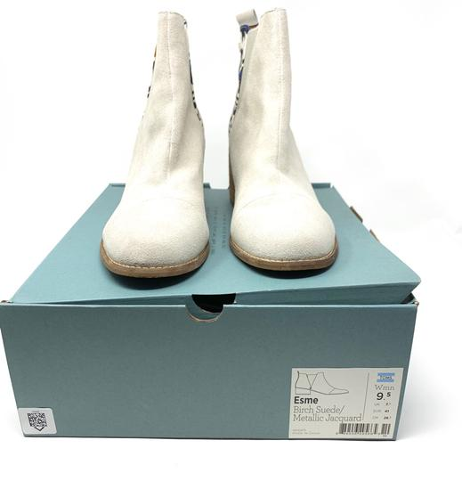 TOMS off white Boots Image 7
