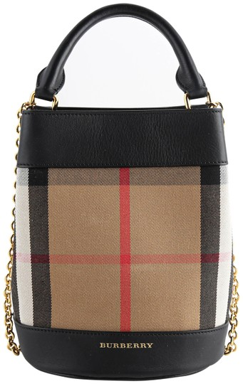 Preload https://img-static.tradesy.com/item/25897189/burberry-bucket-mini-house-check-black-leather-shoulder-bag-0-1-540-540.jpg