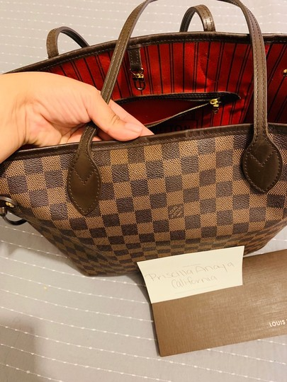Louis Vuitton Tote in Damier Ebene Image 2
