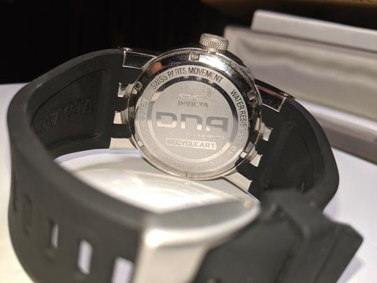 Invicta New Invicta DNA Recycle Art Watch Stainless Steal Silicone Strap B26 Image 6