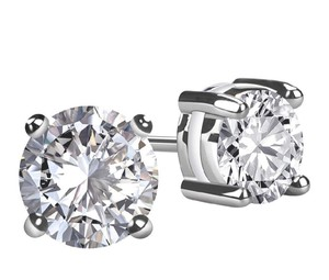 Other SIMULATED DIAMOND STUDS 2.00 CTW EARRINGS