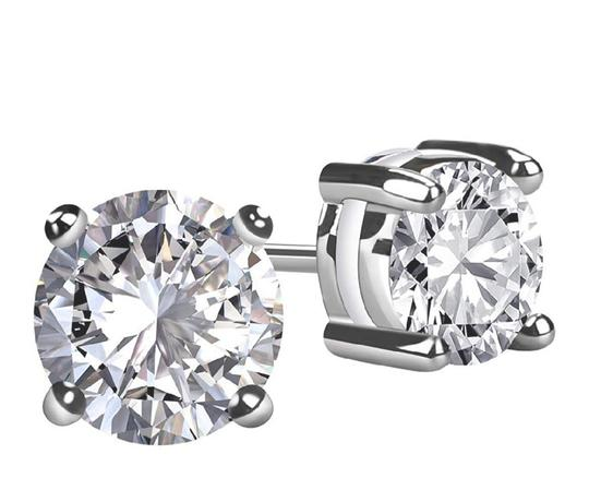 Other SIMULATED DIAMOND STUDS 2.00 CTW EARRINGS Image 2