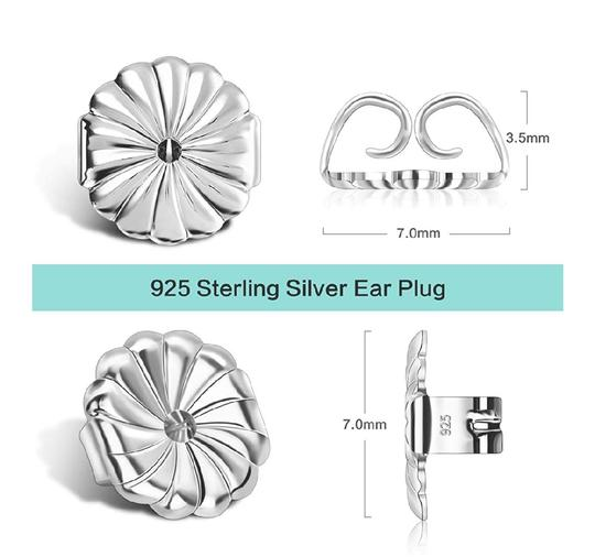 Other SIMULATED DIAMOND STUDS 2.00 CTW EARRINGS Image 5