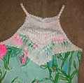 Lilly Pulitzer short dress white, pink, green, blue on Tradesy Image 2