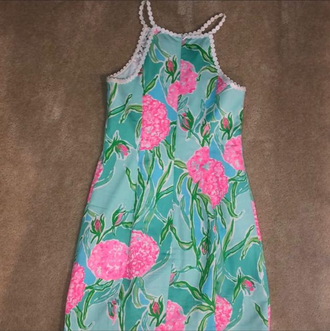 Lilly Pulitzer short dress white, pink, green, blue on Tradesy Image 5