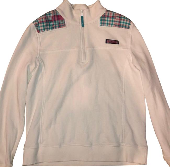 Preload https://img-static.tradesy.com/item/25897310/vineyard-vines-shep-shirt-white-pink-blue-sweater-0-1-650-650.jpg