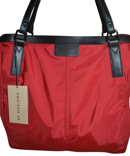 Burberry Purse Purse Handbag Tote in Military Red Image 1