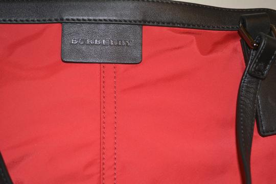 Burberry Purse Purse Handbag Tote in Military Red Image 10