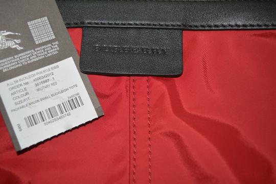 Burberry Purse Purse Handbag Tote in Military Red Image 6