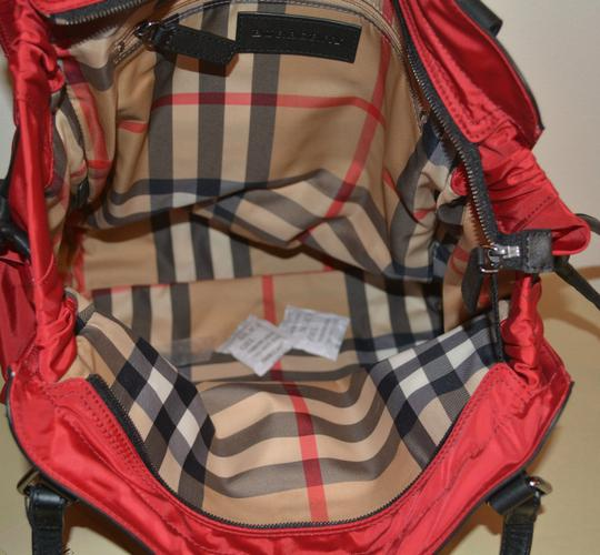 Burberry Purse Purse Handbag Tote in Military Red Image 7
