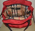 Burberry Purse Purse Handbag Tote in Military Red Image 8
