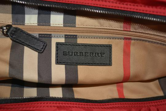 Burberry Purse Purse Handbag Tote in Military Red Image 9