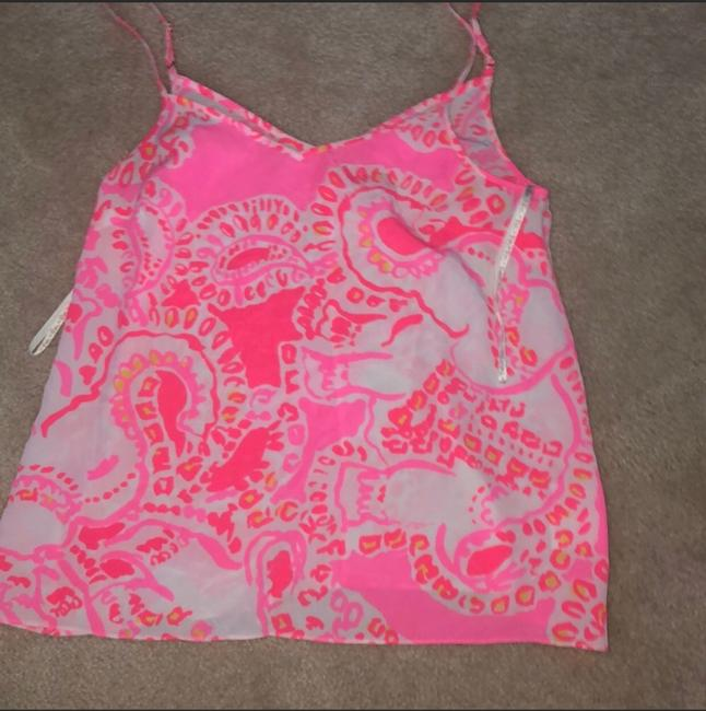 Lilly Pulitzer Top pink, coral, white Image 1