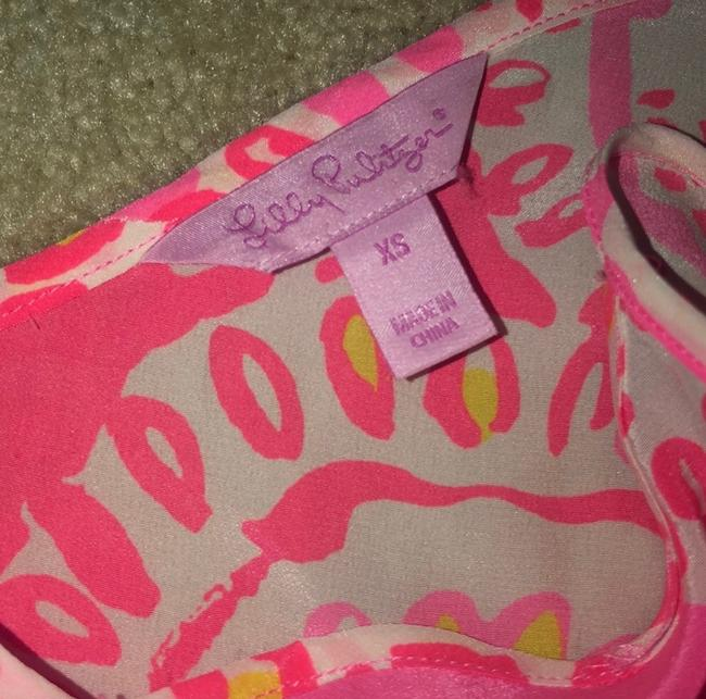 Lilly Pulitzer Top pink, coral, white Image 2
